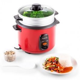 Klarstein Osaka 1,5 Premium, piros, rizsfőző, 500 W, 1,5 liter