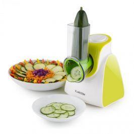 Klarstein Carrot & Rock, 150W, zöld, elektromos zöldségszeletelő, 5 kiegészítő
