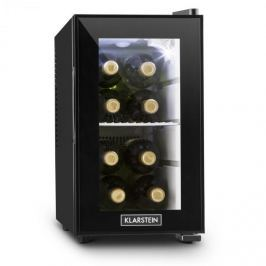 Klarstein Beerlocker S, fekete, mini hűtőszekrény, 21 liter, A+ energiahatékonysági osztály