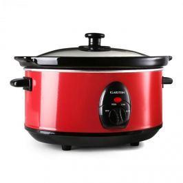 Klarstein Bristol 35, vörös, 200 W, 3,5 literes, lassú főzőedény