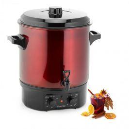 Klarstein Biggie befőzőautomata, 27 liter, 2000 W, rozsdamentes acél, piros