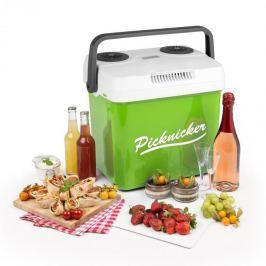 Klarstein Picknicker XL termo hűtődoboz, 32 l, A++, AC, DC, szivargyújtó, zöld