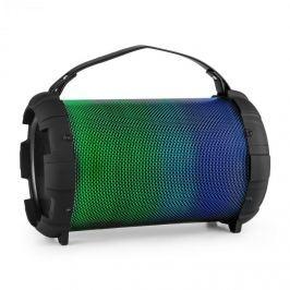 Auna Dr. Bang LED, fekete, 2.1-BT-hangfal, 20 W, RMS, UKW,USB, microSD, AUX, akkumulátor, LED