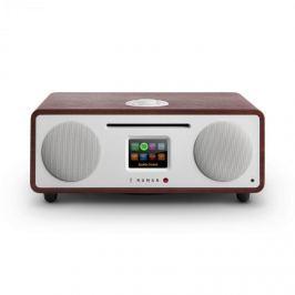 NUMAN Two, wenge, 2.1 internet rádió, CD, 30 W, bluetooth, Spotify Connect