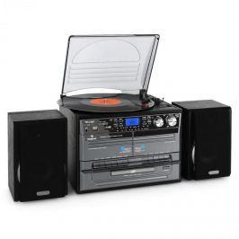 Auna TC-386WE, sztereó készülék, USB, MP3, magnetofon