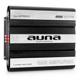 Négycsatornás Auna™ MOSFET erősítő autóba, 4000 W