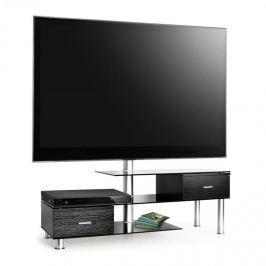 Auna TV asztal, LCD és TV készülék tartóval, fekete
