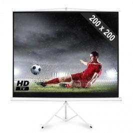 FrontStage PSDB-112, Állványos vászon 200 x 200 cm méretekkel, 1:1 kép formátum