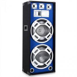 PA hangfal Skytec, 2 x 38 cm, kék LED fény, 1000W