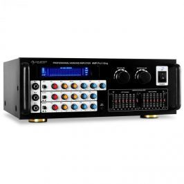 Mikrofonerősítő Auna, PA végerősítő, ekvalizér, 2 zóna