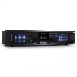 PA HiFi Skytec SPL-500 erősítő, 1600 W, USB, SD, MP3
