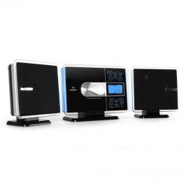 USB sztereó berendezés Auna VCP-191, MP3, CD,SD,AUX,ezüst