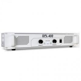 PA erősítő Skytec SPL 400, 1200 W, HiFi erősítő, fehér