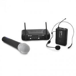 Skytec STWM722 vezeték nélküli mikrofon szett, UHF kézi mik