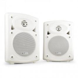 QTX QR5B falra szerelhető hangfalpár, aktív, passzív, fehér