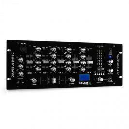 Ibiza DJM950USB-REC 4-csatornás keverőpult, USB rögzítés