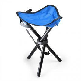 OneConcept Hordozható kempingszék, horgász szék, kék-fekete, 500 g