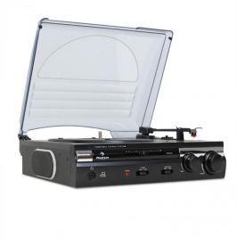 Auna 182TT, USB gramofon, MP3 felvétele, AUX, PC, MAC