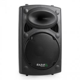"Ibiza SLK12-A, 700 W, 30 cm (12""), aktív PA hangfal, USB, SD, MP3"