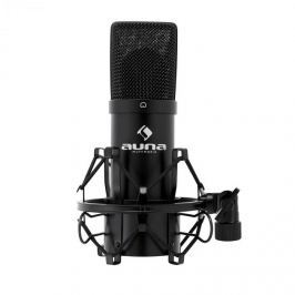 Auna MIC 900B USB kondenzátor mikrofon, fekete, kardoid