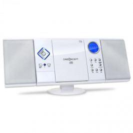 OneConcept V-12, fehér, sztereó rendszer CD-MP3-lejátszóval, USB, SD, AUX