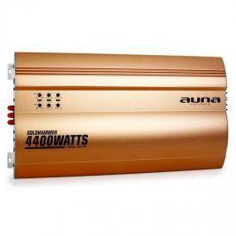 Auna Goldhammer 4-csatornás erősítő autóba, 4400 W, arany