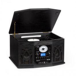 Auna NR-620 sztereó készülék, stereo, MP3 felvétel, fekete