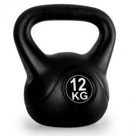 Klarfit Kettlebell, gömbsúly, kettlebell súlyzó, 12 kg
