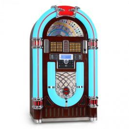 Majestic JB 3710TT Jukebox, USB, SD, CD, AUX, rádió, gramofon
