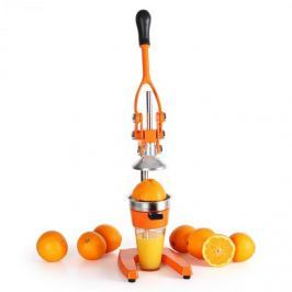 OneConcept Klarstein EcoJuicer XXL, gyümölcsprés, narancsszín