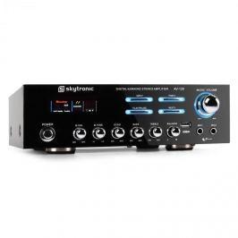Skytronic 103.204 AV-120 PA HiFi erősítő, karaoke, USB, MP3