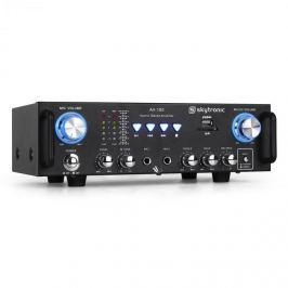 Skytronic 103.208 AV-100 PA HiFi erősítő, karaoke, SD, USB, MP3