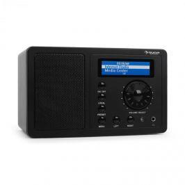 Auna IR-130 internet rádió, W-LAN, streaming, fekete