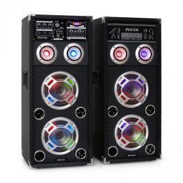 Skytec KA-26 aktív karaoke PA hangfal szett, USB, SD, AUX