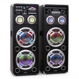 Skytec KA-28 aktív karaoke PA hangfal szett, USB, SD, AUX
