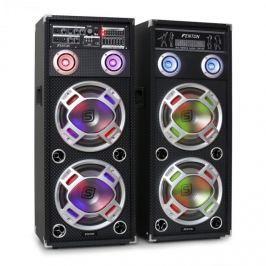 Skytec KA-210 aktív karaoke PA hangfal szett, USB, SD, AUX