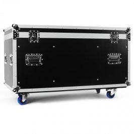 FrontStage hordozható Flightcase szekrény, 118 x 61 x 58cm, kerekekkel
