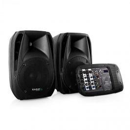 Ibiza Combo210 PA hangfalpár, USB, SD, 300W RMS, AUX