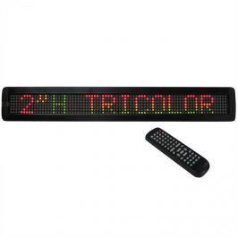 Ibiza MOVING-MES15R, LED kijelző, RGY
