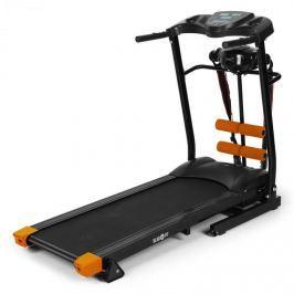 Klarfit Treado Advanced futópad, pulzusmérő, masszázsöv, pad, fekete