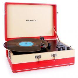 Ricatech RTT95 gramofon USB-vel, FM, digitalizálás