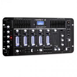 Resident DJ Kemistry 3 B, 4 csatornás DJ keverőpult, bluetooth, USB, SD, phono, fekete