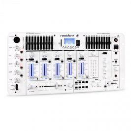 Resident DJ Kemistry 3 WH, 4 csatornás DJ keverőpult, bluetooth, USB, SD, phono, fehér