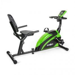 Klarfit Relaxbike 5G, fekvő bicikli, zöldes-fekete