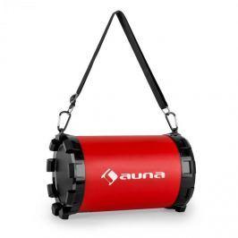 Auna Dr. Red Boom 2.1- bluetooth hangfal, USB, SD, AUX, akkumulátor