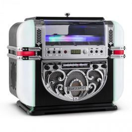 Ricatech RR700, retró jukebox, FM/AM, CD, AUX, LED
