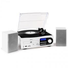 Majestic TT38, sztereórendszer, LP, CD, fehér