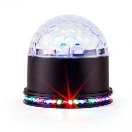 Ibiza UFO-ASTRO-BL, LED fényeffektus, RGB, fekete