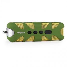 OneConcept Green Know, bluetooth hangfal, AUX, akkumulátor, zöld