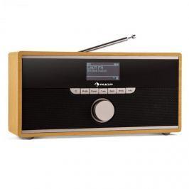 Auna Weimar DAB-rádió, internetes rádió, bluetooth, DAB+, ébresztőóra